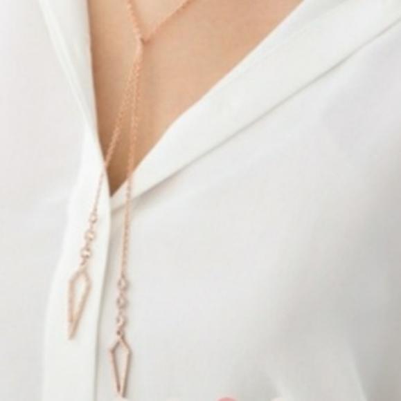 Chloe + Isabel Jewelry - c+i Rose Gold Lariat
